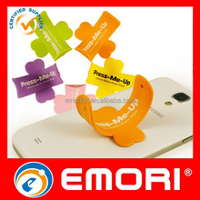 Top Quality ROHS Standard Eco-friendly funny one touch you silicone mobile stand