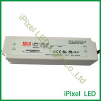 100w 12v waterproof led power,led driver