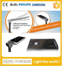 20W 30W philips 3 year warranty12v dc solar led street lights