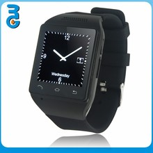 [Black]China Wholesale Bluetooth Watch ,SIM Card,Touch Screen,Mp3 Player ,FM Radio,Built In High Capacity Detachable Battery S18