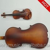 Musical instruments violin for children with spruce face;4/4,3/4 size violin