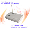 Súper venta de teléfonos celulares GSM con sistema de alarma antirrobo, alarma de marcación automática LS-GSM-004