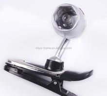 Best selling clip reading light/led clip light