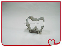 Stainlee steel Bulk cookie cutters for promotion gift with high quality