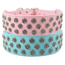 Dog Collar Flowers 3 Rows Flower Accessories Dog Collars