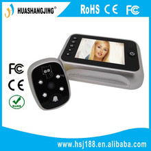 wireless peephole video door phone 3.5 inch ultra bright TFT LCD screen