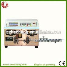 wire cutting and stripping machine