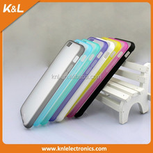 """Good quality Ultra slim TPU +pc hard Case Cover For Apple iPhone 6 4.7"""" wholesale pc mobile case"""