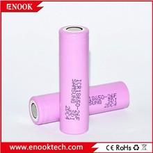 Used for E-cig Samsung icr 18650 26F 2600mah 3.7V li-ion battery