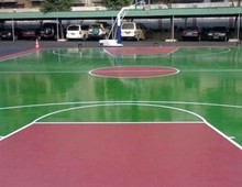 Maydos weathering resistant outdoor playground epoxy concrete floor coating