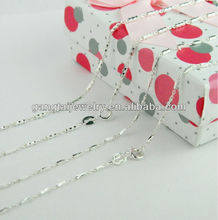 Nickel & lead free Sterling silver chain,fashion 925 silver jewelry