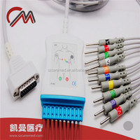 *Caremed Holter ECG EKG cables,patient monitor cables,OEM&ODM service