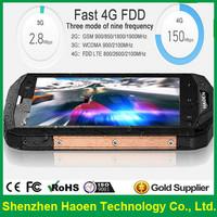 Wholesale Haoen 4G LTE Stone 5s Cellular Mobile Phones IP67 Waterproof Rugged Outdoor Cellphone 5inch Single Sim Cheap Celular