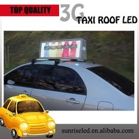 Sunrise Wireless LED moving message display,Taxi LED display,LED message display