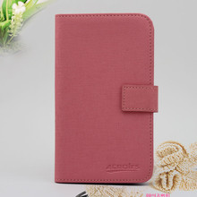 Low MOQ!!! high quality flip wallet leather case for lg l80 dual
