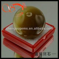 large size round shape cat's eye stones bead ball(CEBA0005-30mm)