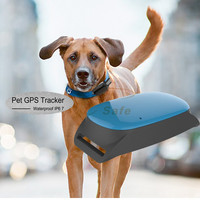 Mini GPS locator Dog Pets Cats On google Map Tracking System ET20