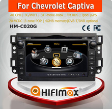 Hifimax car dvd audio navigation system for CHEVROLET CAPTIVA 2006-2010 WITH A8 CHIPSET DUAL CORE 1080P V-20 DISC WIFI 3G DVR