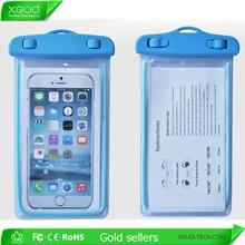 New arrival waterproof cell phone bag,waterproof dry bag 6 inch