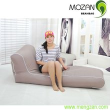 MOZAN bean bag popular foldable bench chaise lounge sofa indoor and outdoor