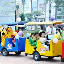 Children loved amusement park model train shows