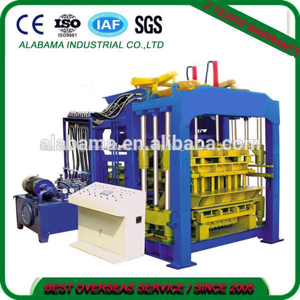 China qualidade superior qt10-15 totalmente- automática do bloco de cimento que faz a máquina