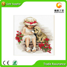 OEM and ODM wholesale of rhinestone embroidery oil diamond painting for children
