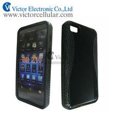 for BlackBerry BB Z10 Black hard TPU protrctor case