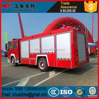 Big HOWO 6x4 water foam fire truck factory, Foam Tanker Fire Truck