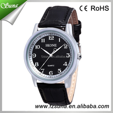 Hottest sale couple leather wrist new times quartz ladies watch