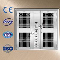 new design luxury stainless steel gate door