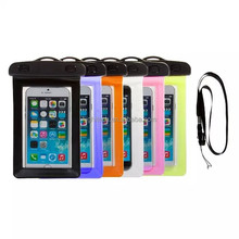 Waterproof Phone Wallet Pouch Swimming Diving Surfing Case Bag for Smart Phone Samsung iPhone
