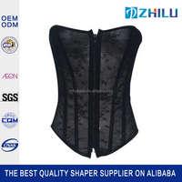 China factory price professional latex waist cincher women sexy corsets