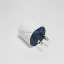 OEM white EU US plug universal 5w mobile phone adapters
