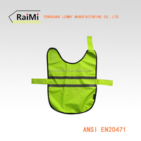 Green safety reflective protection dog adjustable weight vest