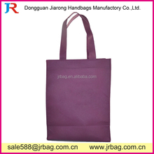 Purple Eco Bags Shopping Non woven Carry bags