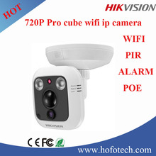 Hikvision 720P mini wifi ip camera with POE,two way audio and alarm