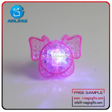 Butterfly light up ring promotional gifts Flashing ring
