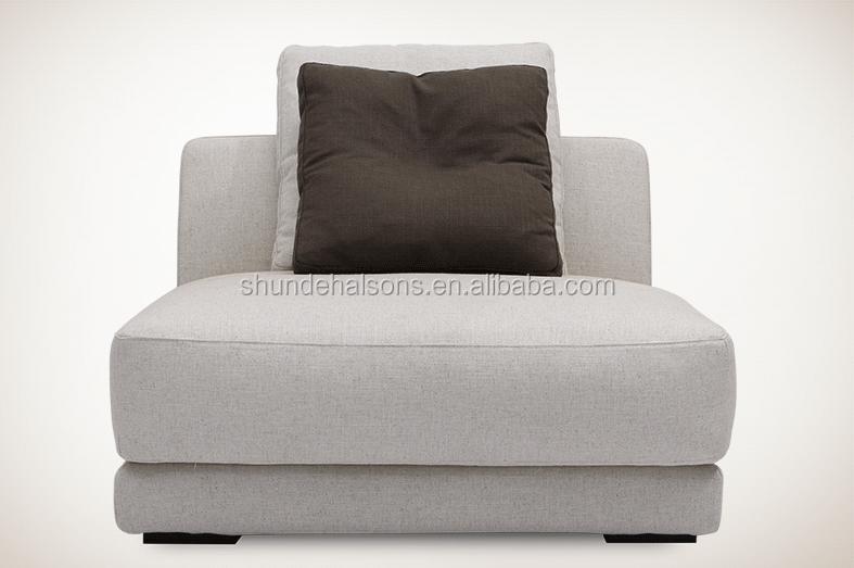 moderne style italien tissu canap en lin et mousse avec plume l 39 int rieur canap salon id du. Black Bedroom Furniture Sets. Home Design Ideas