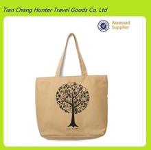 Best selling custom lager canvas shopping bag