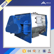 Powder horizontal non-gravity twin shaft mixer