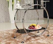fashional customized hotel trolley room service cart