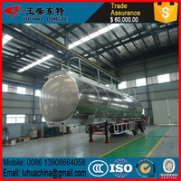 40000L Alcoa Alloy Fuel Tank Semi Trailer transport petroleum