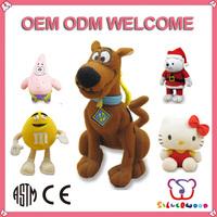 Familiar in oem odm factory supply high quality stuffed animal husky