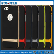 Rock Royce Series 2 in 1 TPU+PC Back Cover , rock phone Case for Iphone 6
