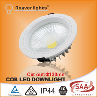 3 years warranty 130mm cut out 4 inch 12w to 30w recessed led powerful downlight