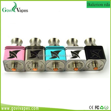 Govivapes new stainless steel kennedy v2 rda/mad hatter/Balerion rda newest clone Aris rda