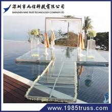 1.22*1.22m /4ft*4ft 1.22*2.44m/4ft*8ft Top quality Plywood Platform Aluminum Modular Stage for sale