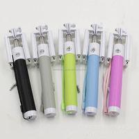 one-piece folding wire clip single leg tripod