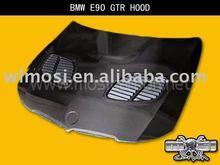 CARBON FIBER CAR ENGINE HOOD FOR BMW E90 GTR STYLE